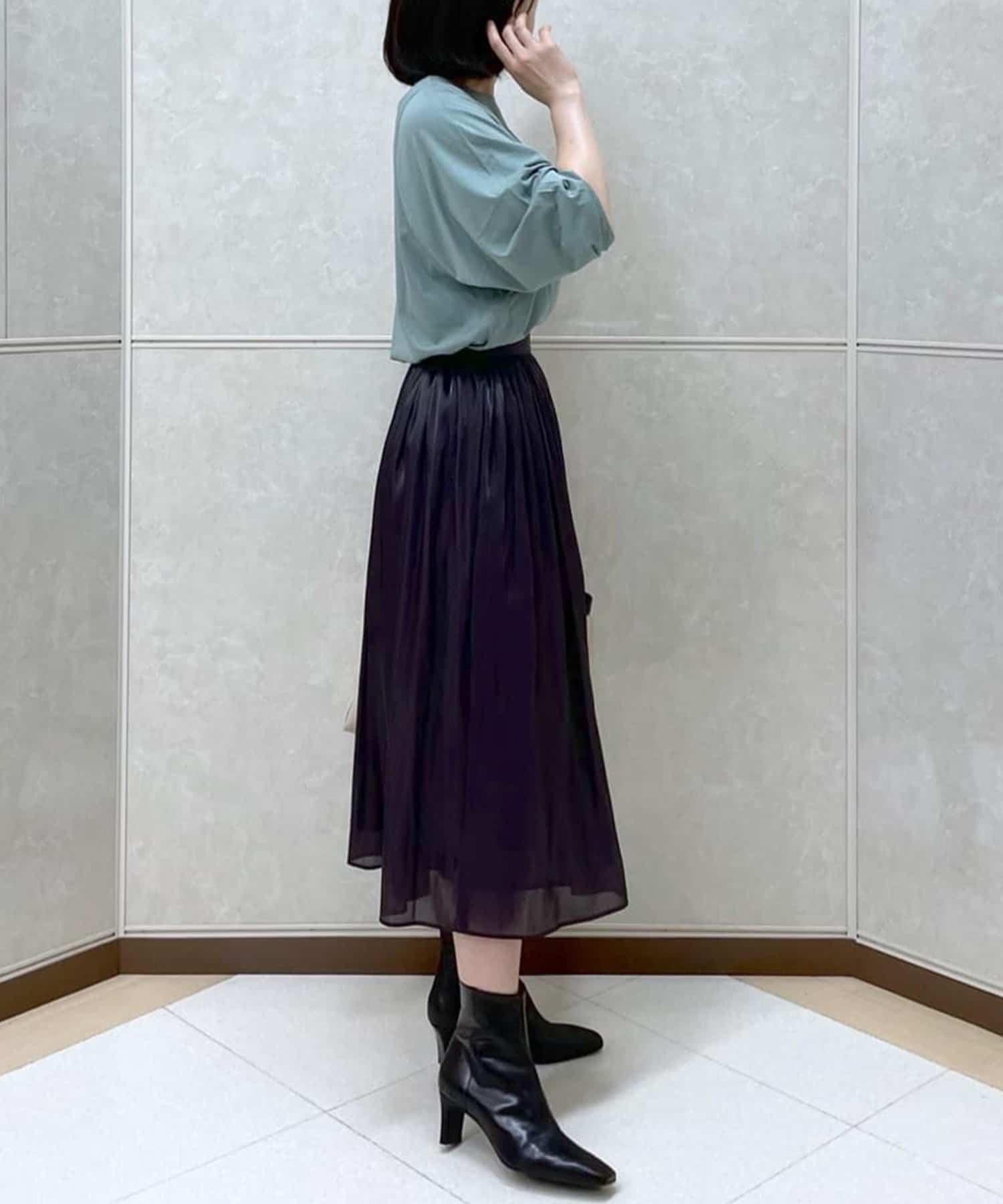 OUTLET premium(アウトレット プレミアム) 【オーバーサイズがラフな雰囲気に】ハイゲージコットンロンTシャツ