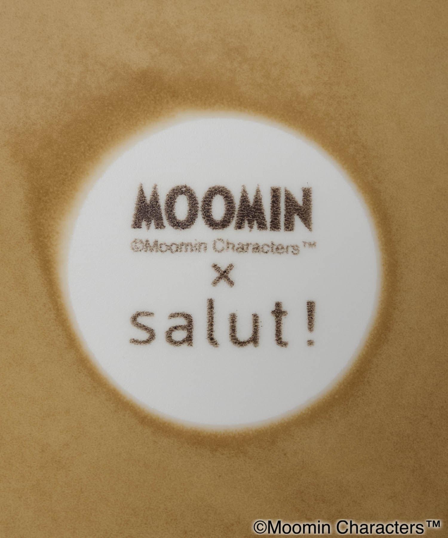 salut!(サリュ) 【ムーミン×salut!】プレート24cm (イエロー)