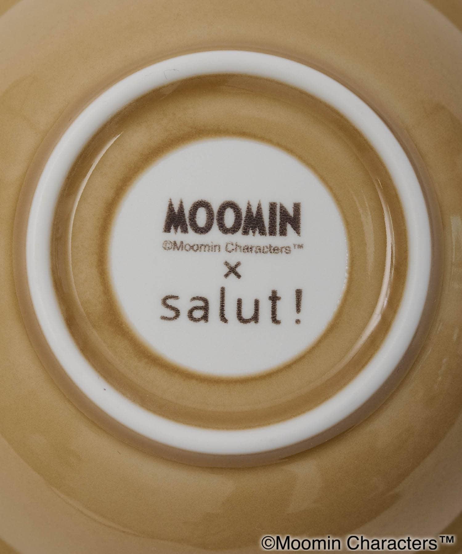 salut!(サリュ) 【ムーミン×salut!】ディーププレート17㎝(イエロー)