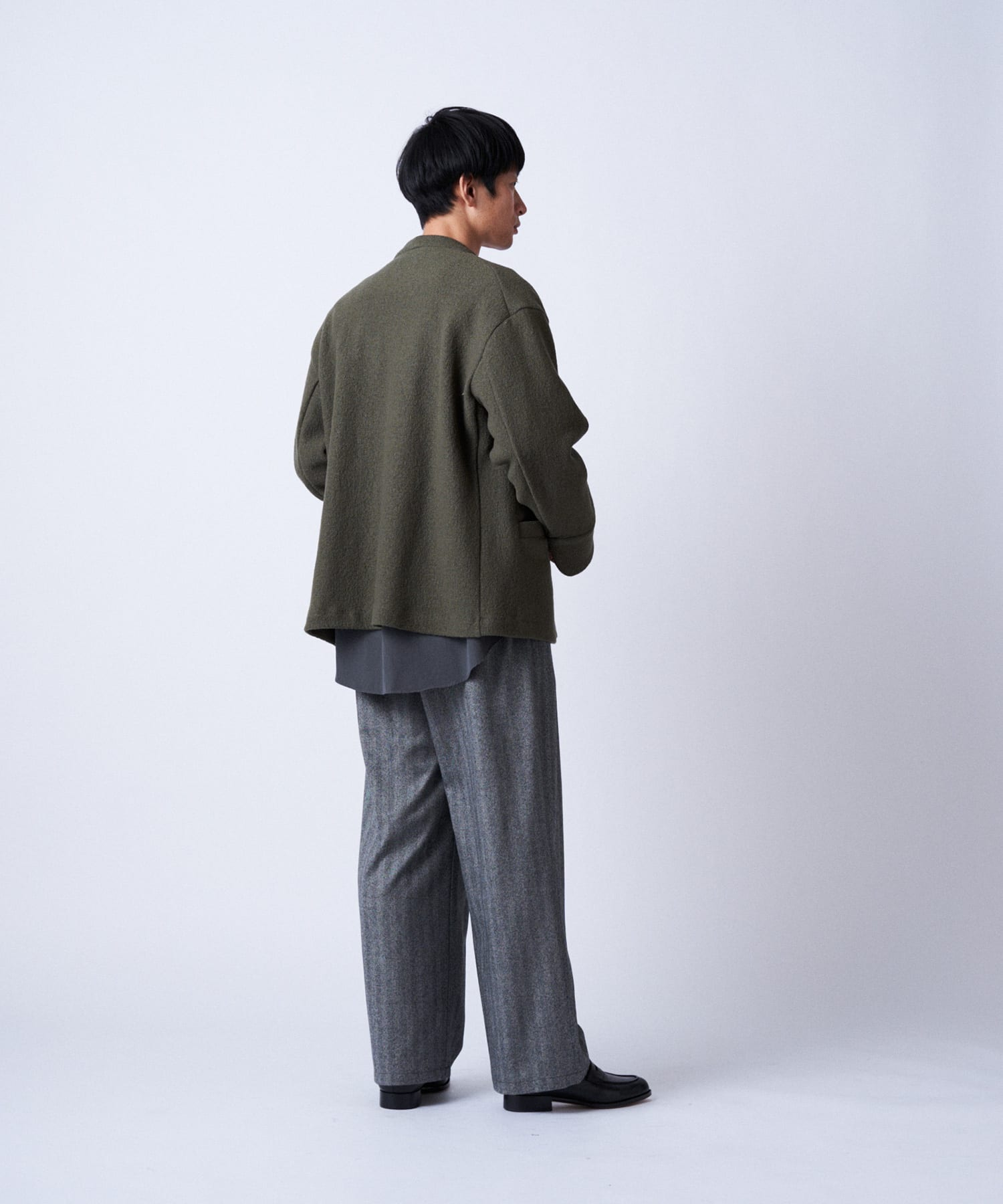 BLOOM&BRANCH(ブルームアンドブランチ) Phlannèl / mens Wool Gurkha Trousers