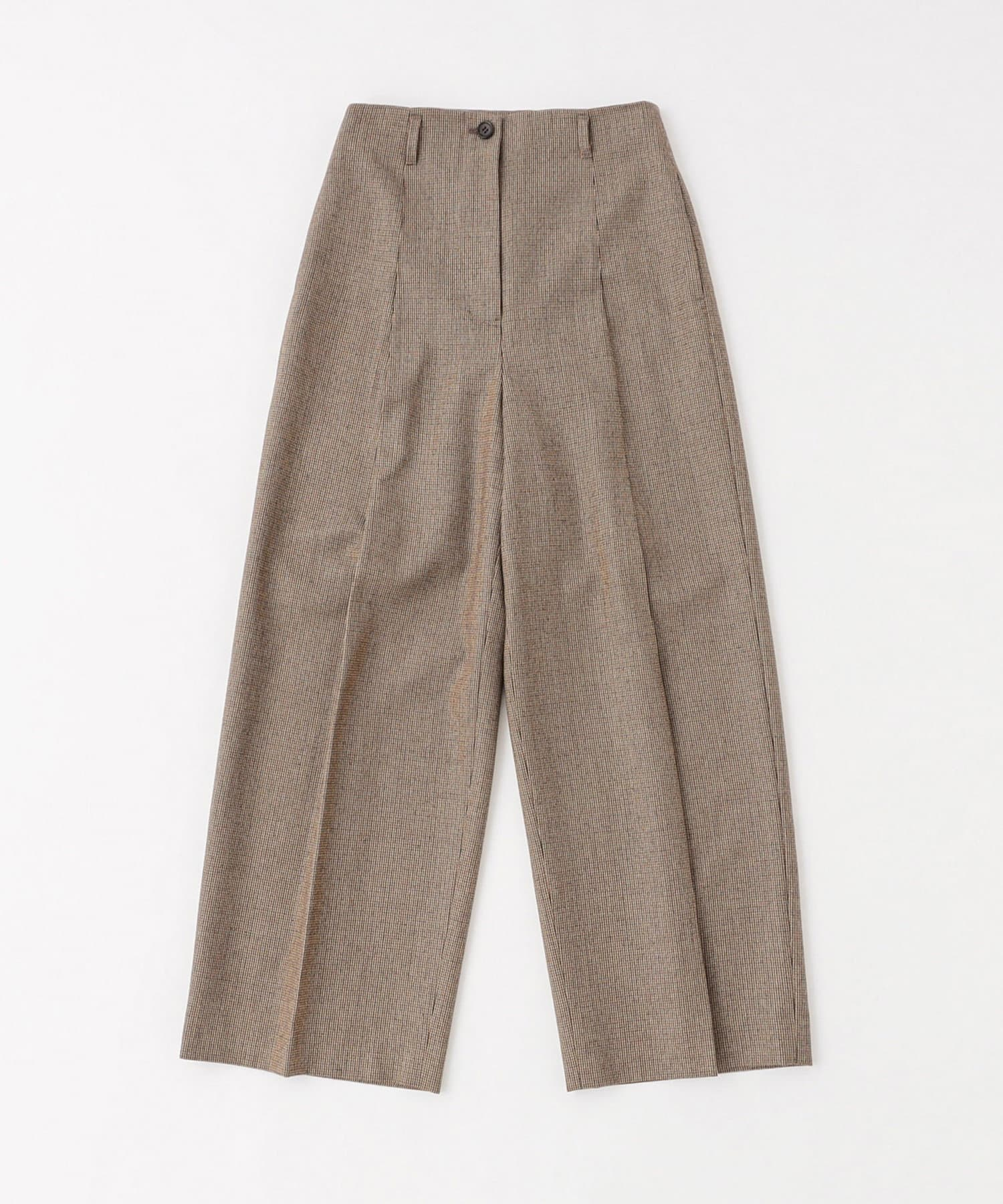 BLOOM&BRANCH(ブルームアンドブランチ) Phlannèl / womens Wool Wide Trousers
