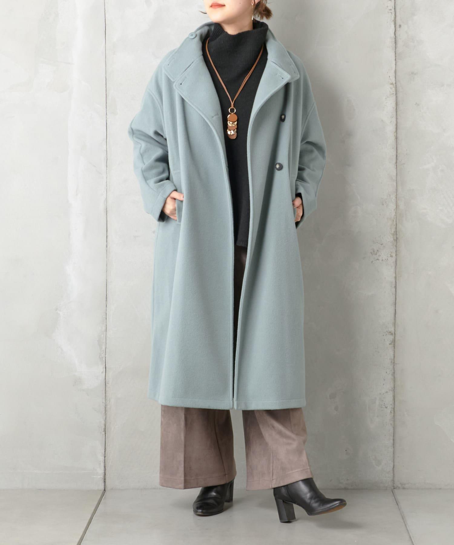 Pal collection(パルコレクション) 【予約】《今季注目》スタンドカラーコート