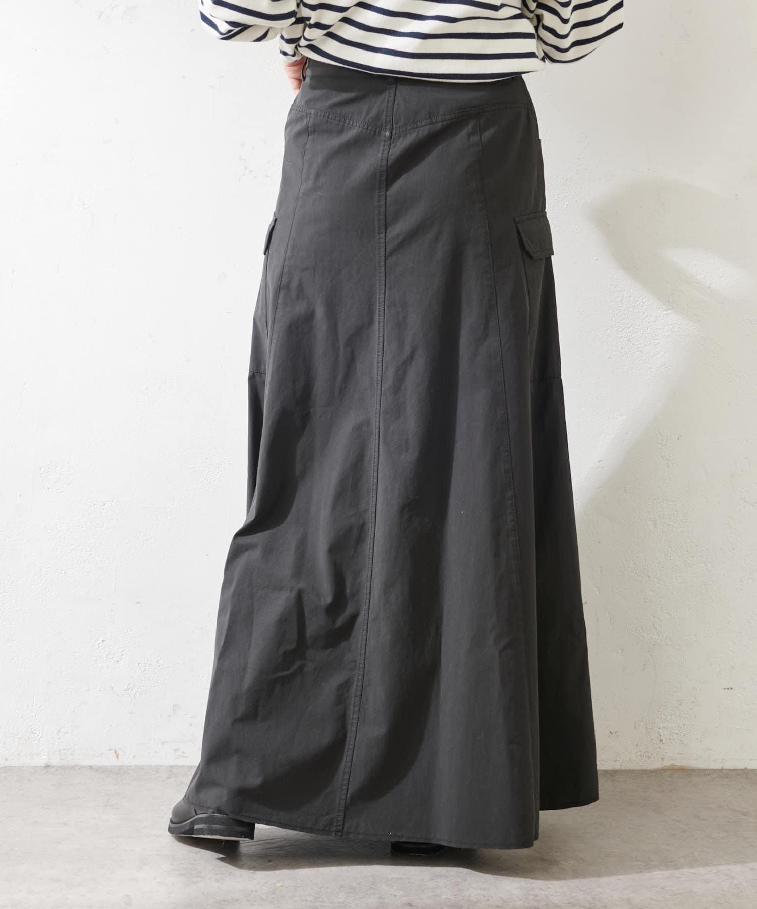 SHENERY(シーナリー) カットオフカーゴロングスカート