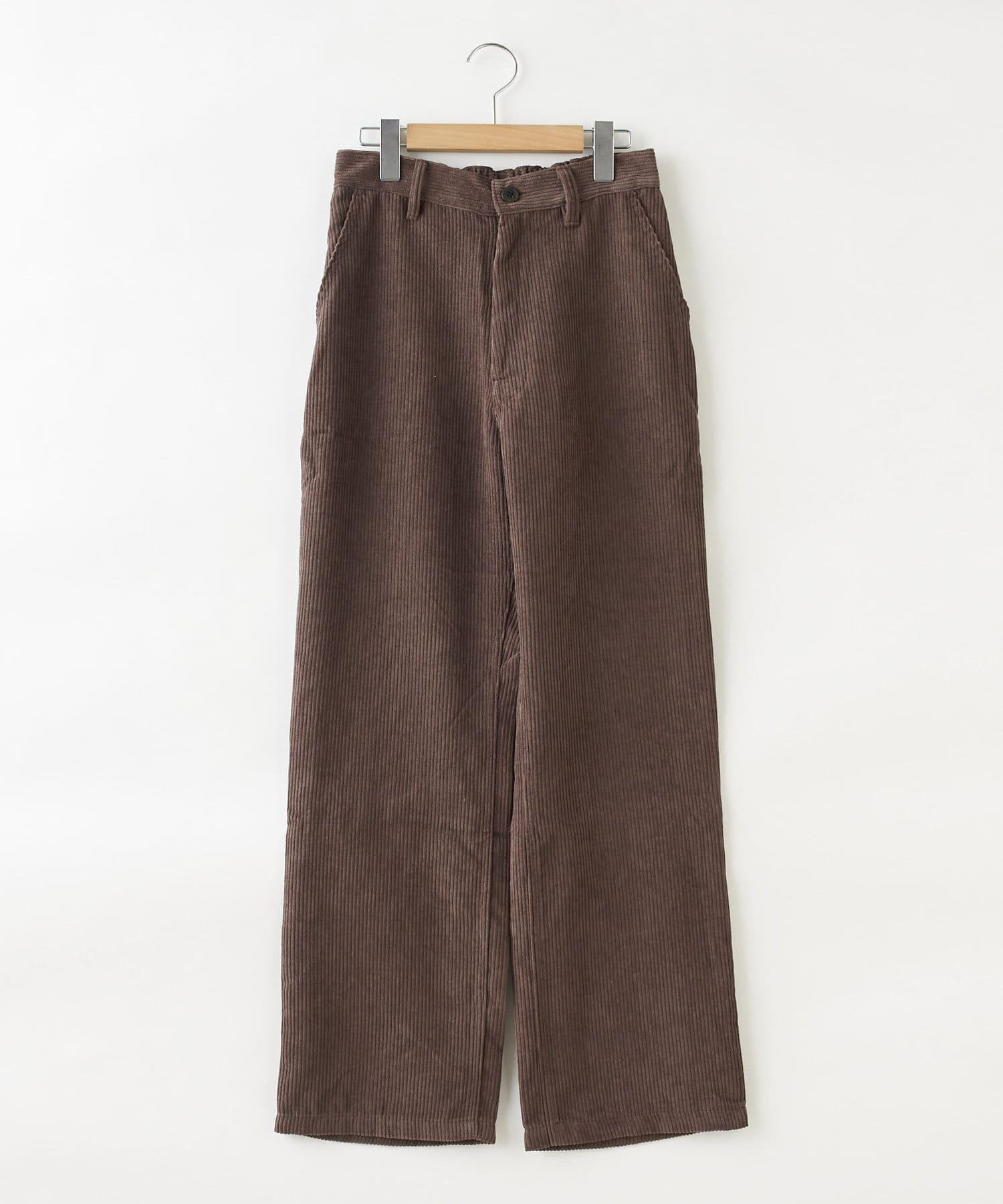 OLIVE des OLIVE OUTLET(オリーブ・デ・オリーブ アウトレット) 【dsf】Loose corduroy pants