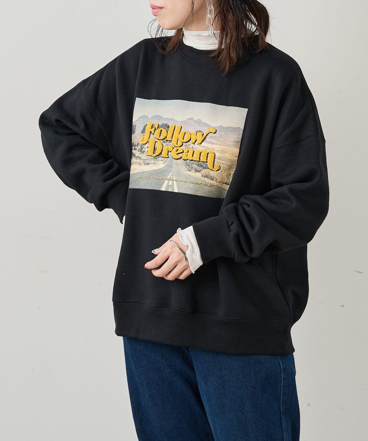 NICE CLAUP OUTLET(ナイスクラップ アウトレット) フォトonサガラ刺繍ルーズPO