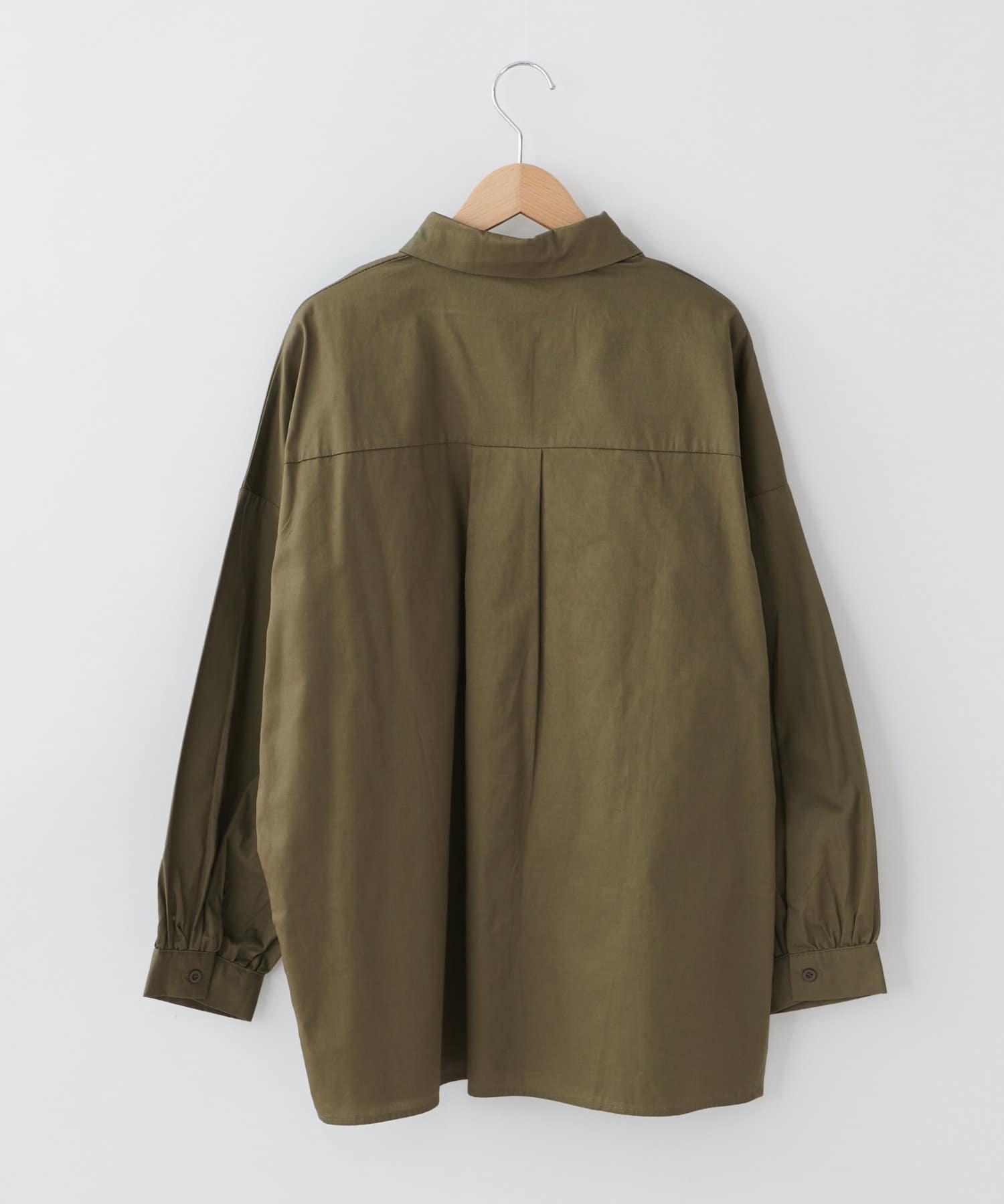 OLIVE des OLIVE OUTLET(オリーブ・デ・オリーブ アウトレット) 【dsf】Big shirt