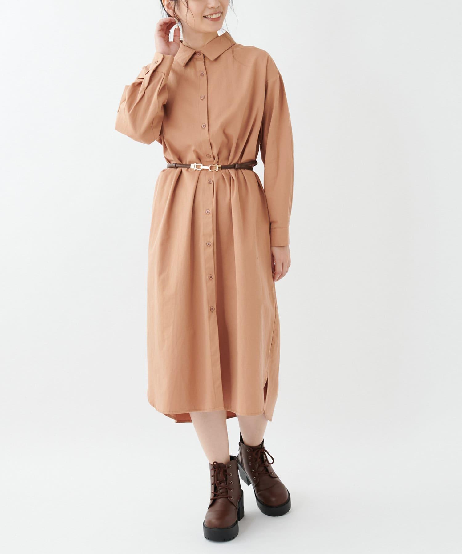 OLIVE des OLIVE OUTLET(オリーブ・デ・オリーブ アウトレット) 【dsf】Shirt dress